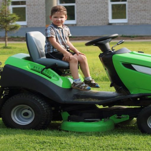 Push Mower versus Riding Mower